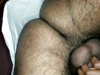 Indian lady groaning while plowed from backwards