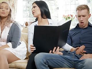Girlfriend's busty mom hardcore sex