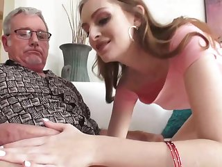 Slim blonde slut, Maya Kendrick got fucked in the ass until she started moaning from pleasure