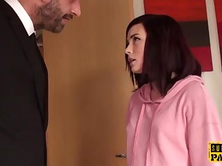 Facefucked uk fuckslut gasped come by subordination