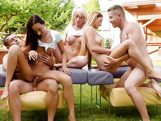 Clean distraction outdoors