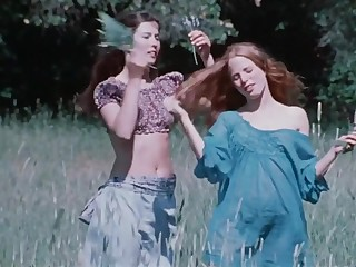 Antique porno film about a muddy dam with 2 youthfull daughters-in-law