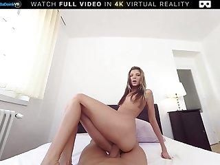 Naughty Babysitter Gina Fucked Hard VR