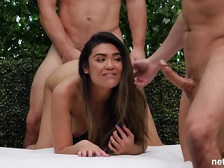 Sweet Ava is on the casting so she wants to show her fucking skills