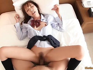 Yuika Is A Exciting Japanese 18 Years Old Hungry F - 18yo schoolgirl