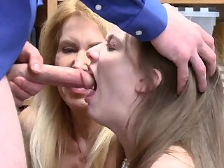 Dad fuck in office and very hardcore rough sex Both
